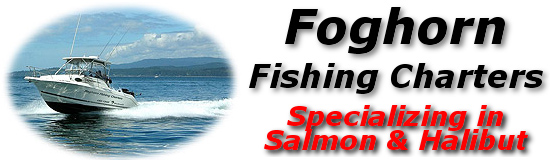 Foghorn Fishing Charters - Specializing in Salmon & Halibut- Victoria, BC